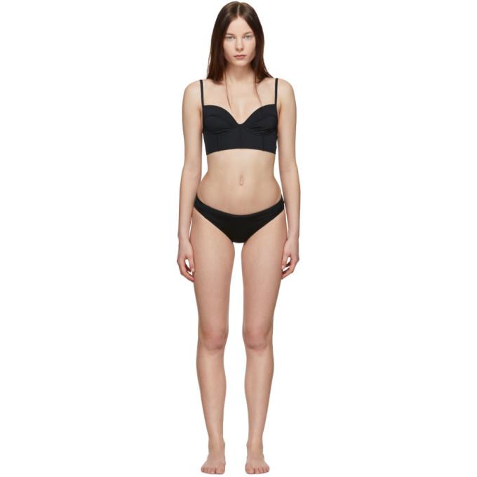 Proenza Schouler Bikini noir Bustier