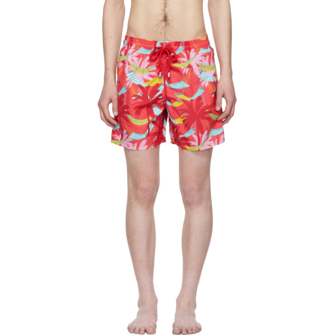 63d0ecc5c9 Vilebrequin Red Moorea Swim Shorts
