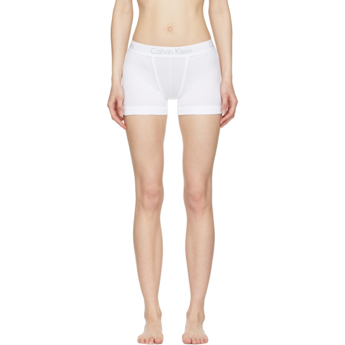 Calvin Klein Underwear White Body Boy Shorts