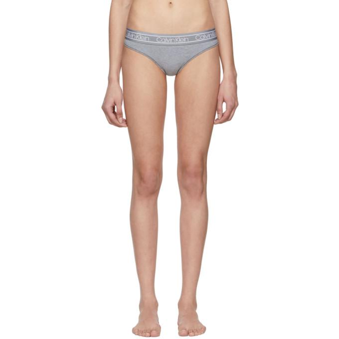 CALVIN KLEIN | Calvin Klein Underwear Grey FLX Briefs | Goxip