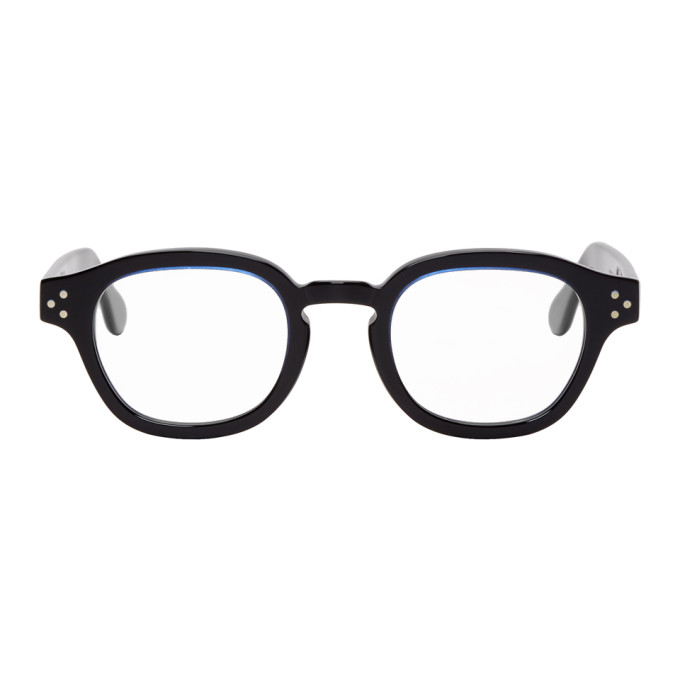 Image of Cutler And Gross Black & Blue 1290-03 Glasses