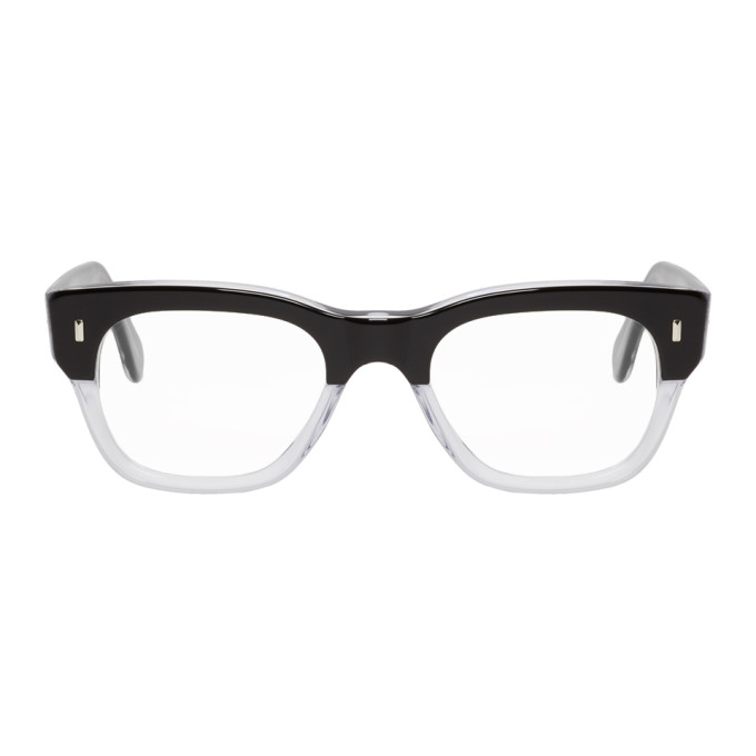 Image of Cutler And Gross Black 0772 Grad Glasses