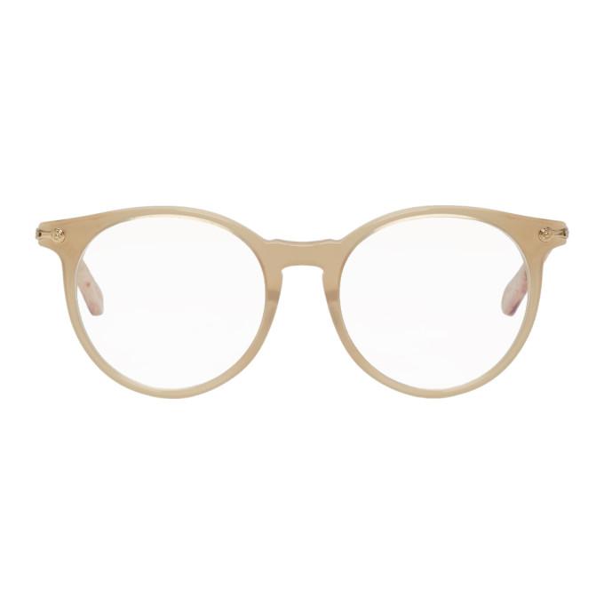 Chlo� Beige Horned Glasses