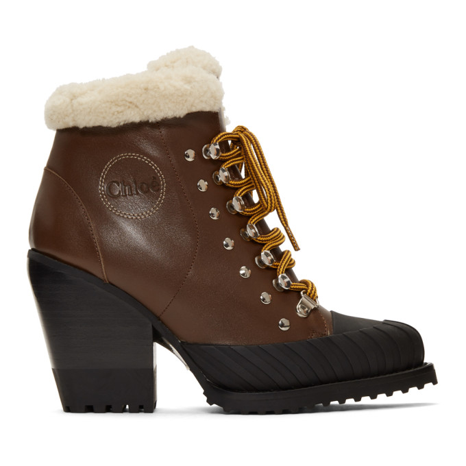 Chloe Brown Lined Rylee Mountain Boots