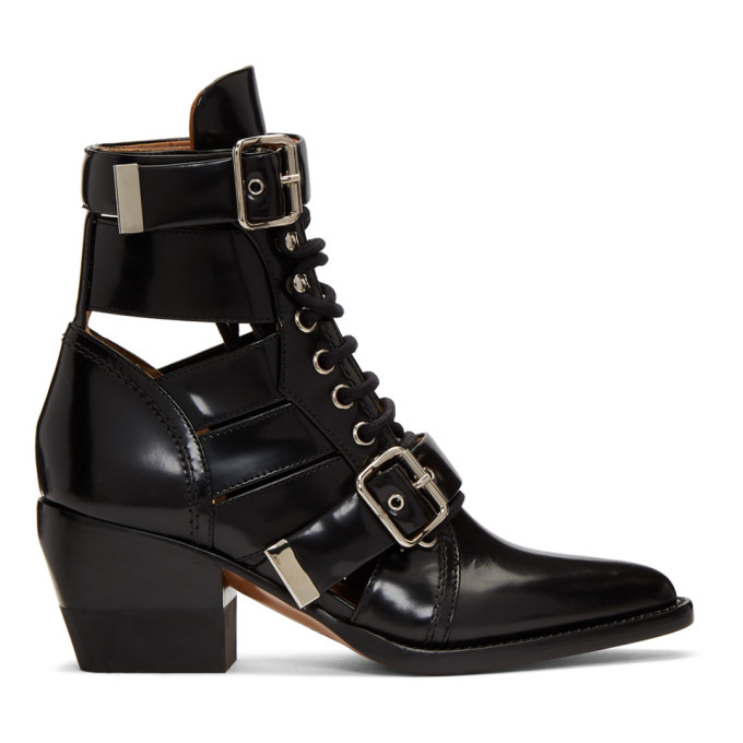 Chloe Black Rylee Medium Boots