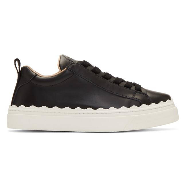 Chloe Black Lauren Sneakers