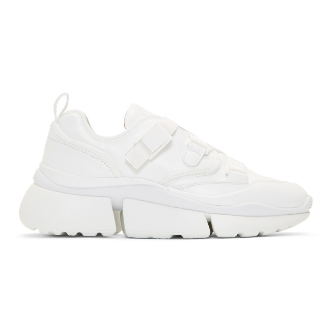 Chloe White Sonnie Sneakers
