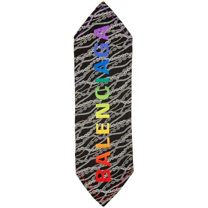 Balenciaga Foulard noir Chain