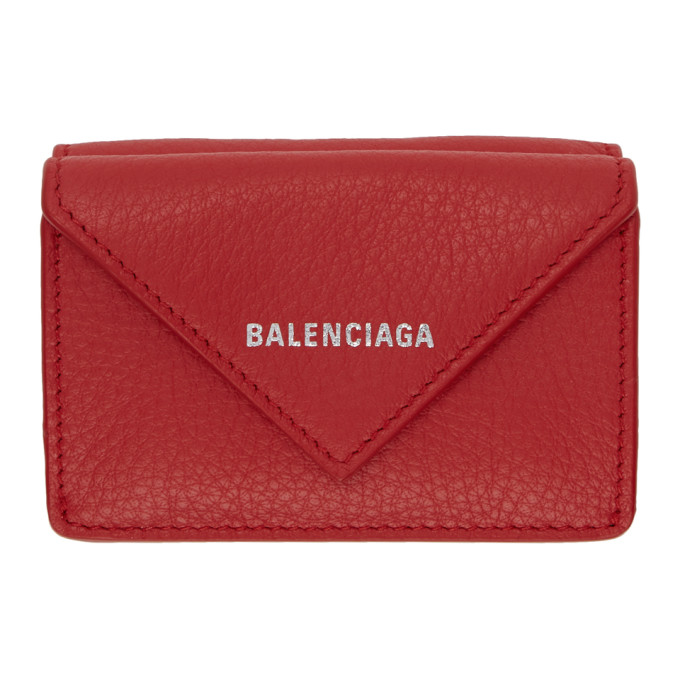 Papier Leather Purse in 6525 Red
