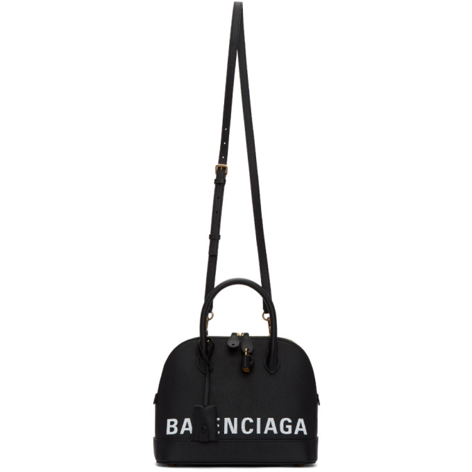 Balenciaga Black Small Ville Top Handle Bag
