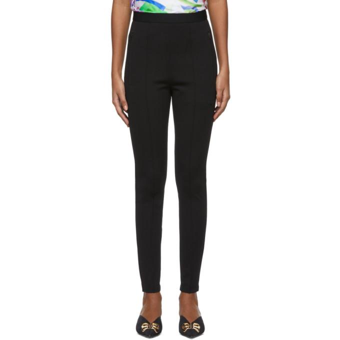 Balenciaga Legging a logo noir Jogger