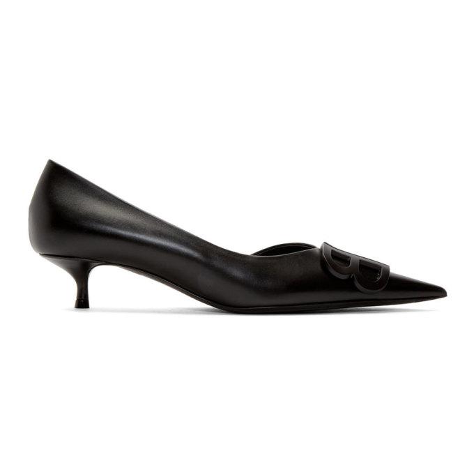 Balenciaga Black BB Heels