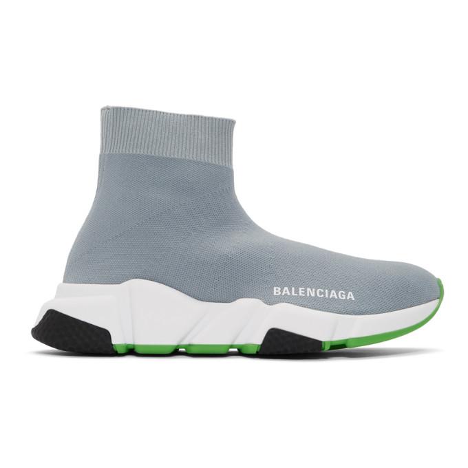 Balenciaga Grey Speed Sneakers