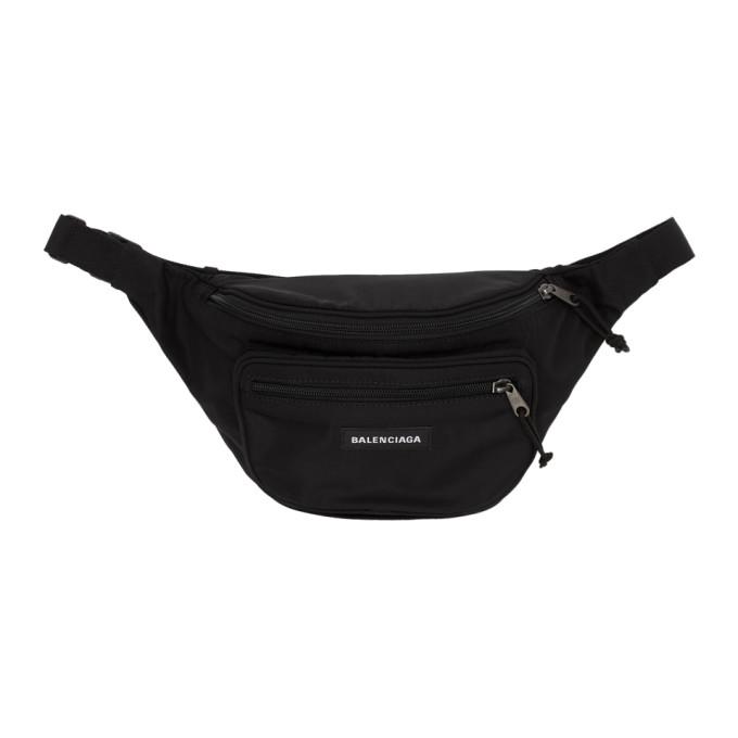 Balenciaga Black Explorer Belt Bag