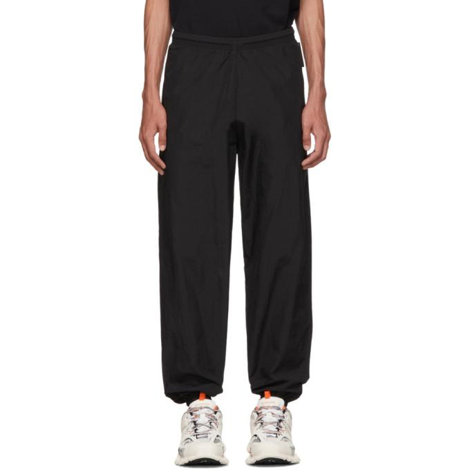 BALENCIAGA | Balenciaga Black Taffeta Lounge Pants | Goxip