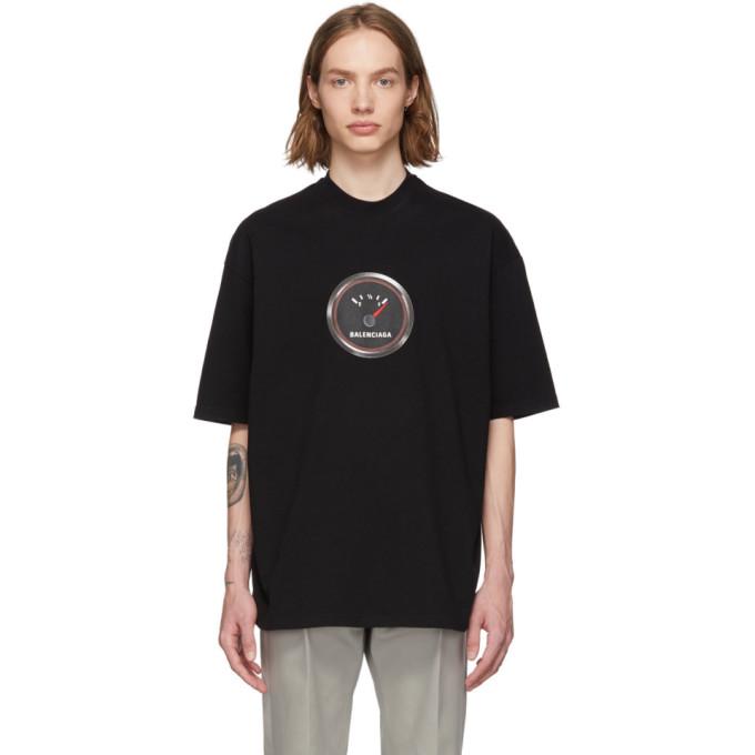 bbf54f234 Balenciaga Speed Logo Print Cotton Jersey T-Shirt In 1000Black ...