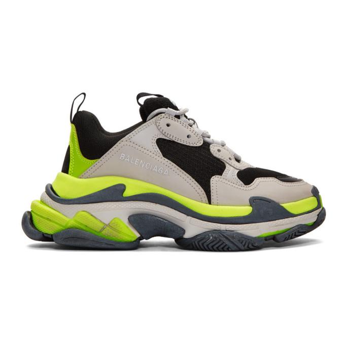 wholesale dealer c8a32 0f8f2 Triple S Retro Sneaker in 1293 Gr/Yl