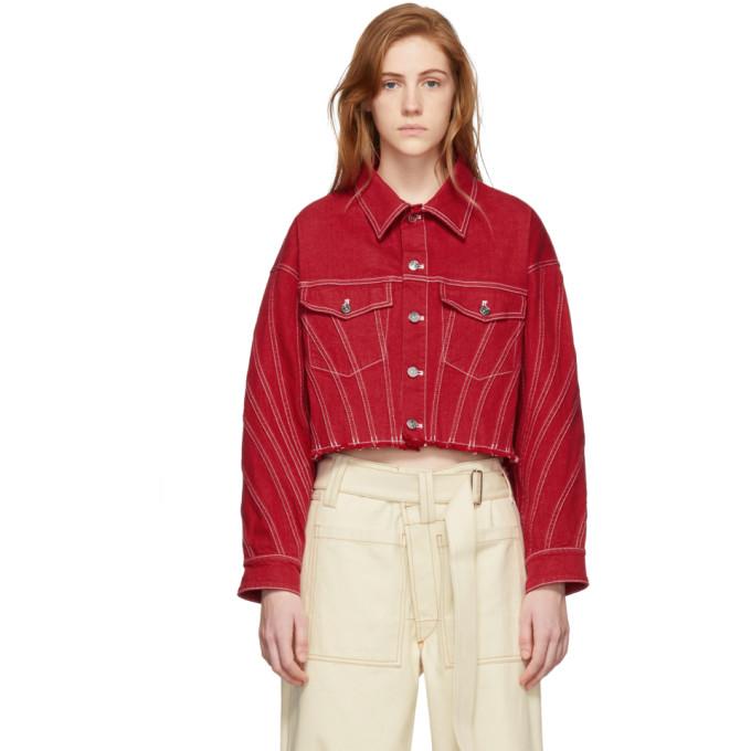 Standards /& Practices Plus Size Womens Drop Shoulder Cropped Indigo Jean Jacket