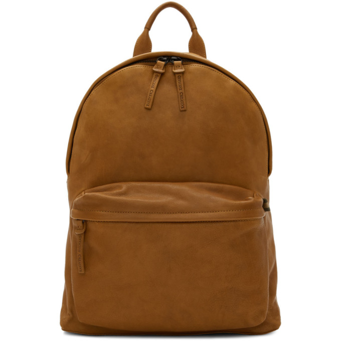 Officine Creative Brown Novak Backpack