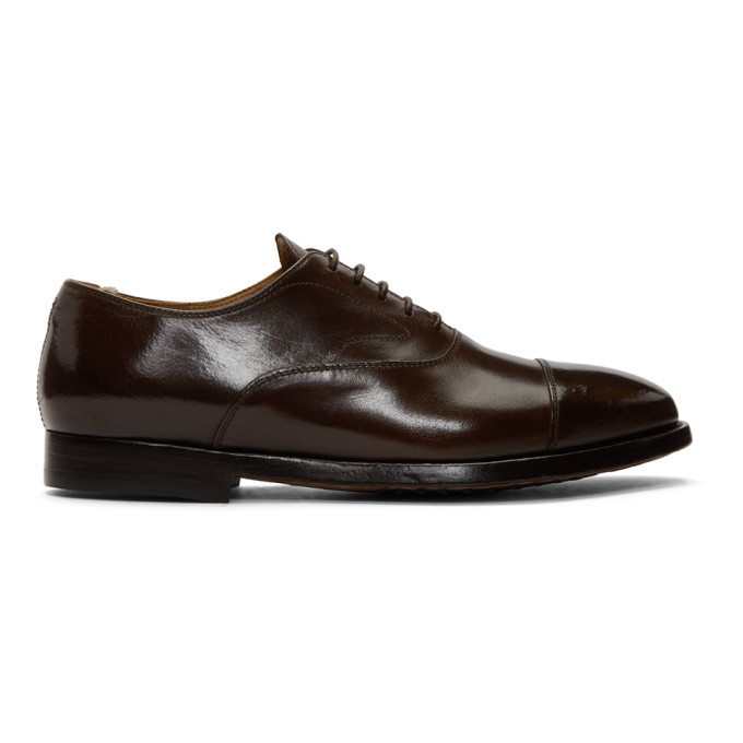 Officine Creative Brown Hervè 2 Oxfords