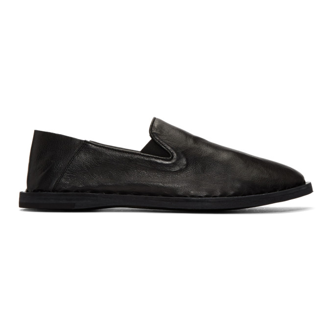 Officine Creative Black Felix 6 Loafers