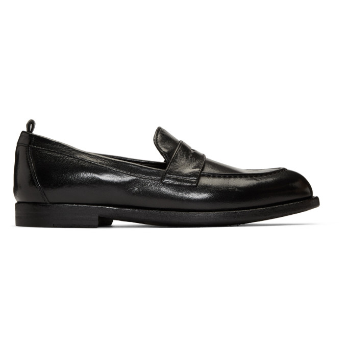 Officine Creative Black Ivy 12 Loafers