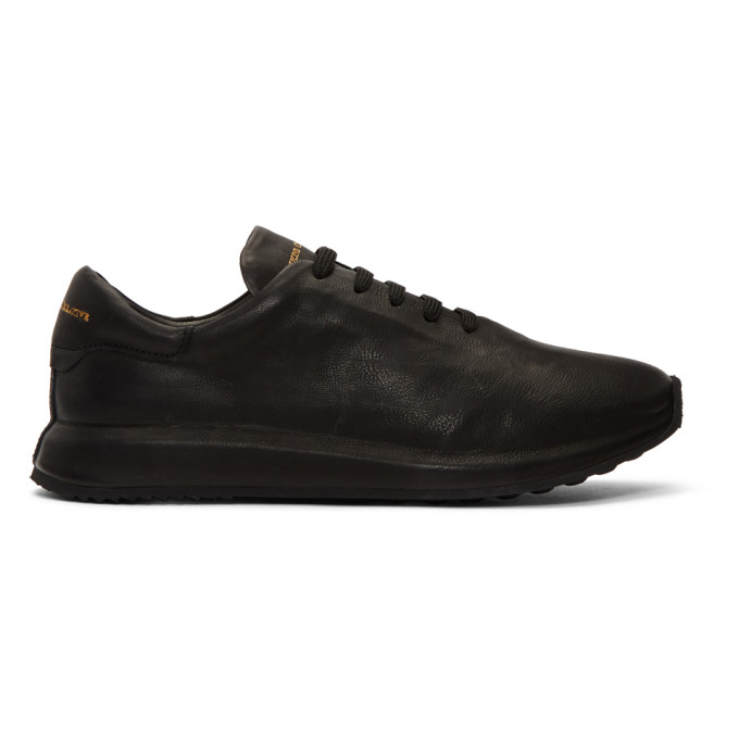 Officine Creative Black Race 1 Sneakers