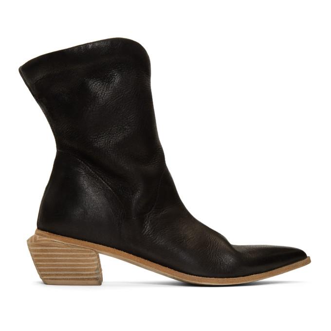 Marsèll Black Tronchetto Tex Boots