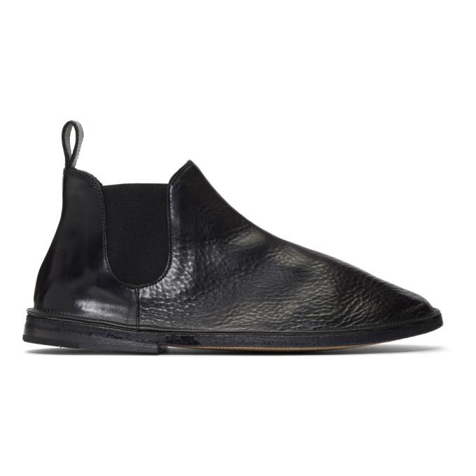 Marsèll Black Tost Beatles Chelsea Boots