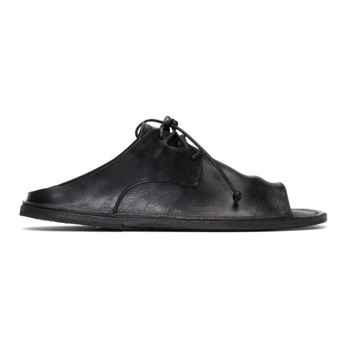 Marsèll Black Sandalaccio Sandals