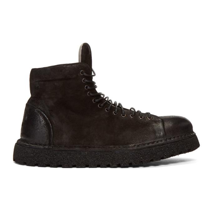 Marsèll Black Pallottola Pomice Boots