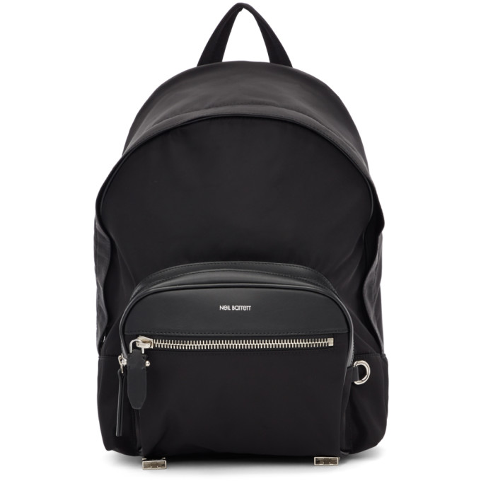 Neil Barrett Black Classic Backpack