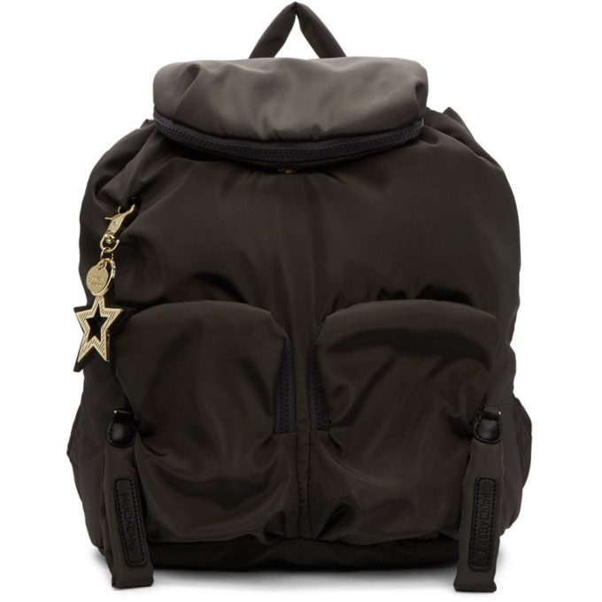 SEE BY CHLOÉ | See By Chloe Grey Joy Rider Backpack | Goxip