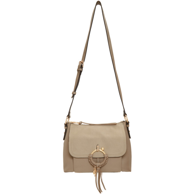 SEE BY CHLOÉ | See By Chloe Grey Small Joan Bag | Goxip