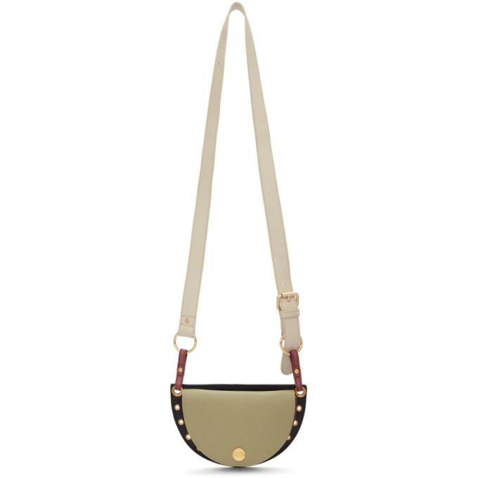 See by Chloé Green & Black Small Kriss Bag