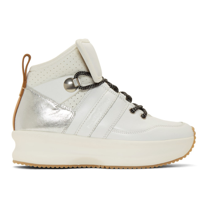SEE BY CHLOE | See by Chloe White Casey Sneakers | Goxip