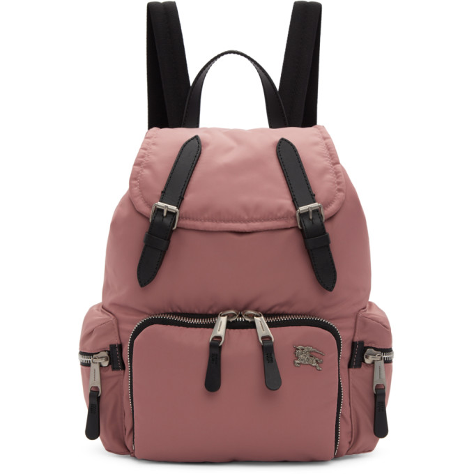 Burberry Pink Medium Backpack