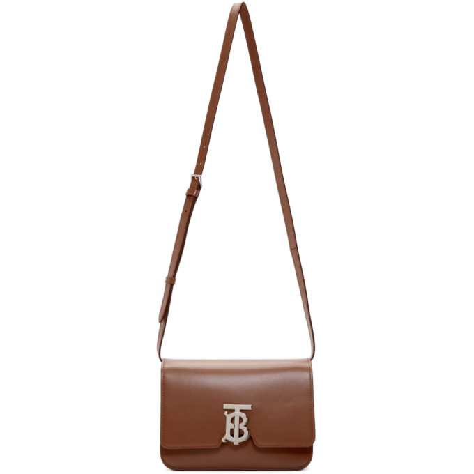 Burberry Brown Small TB Bag