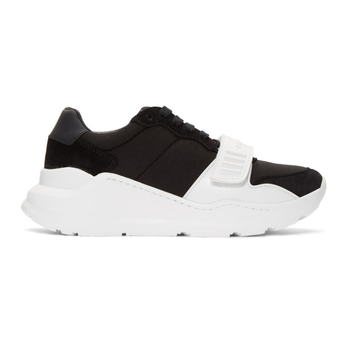 Burberry Black Regis Sneakers