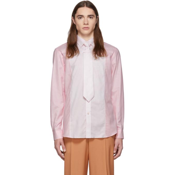 Burberry ピンク オックスフォード シャツ