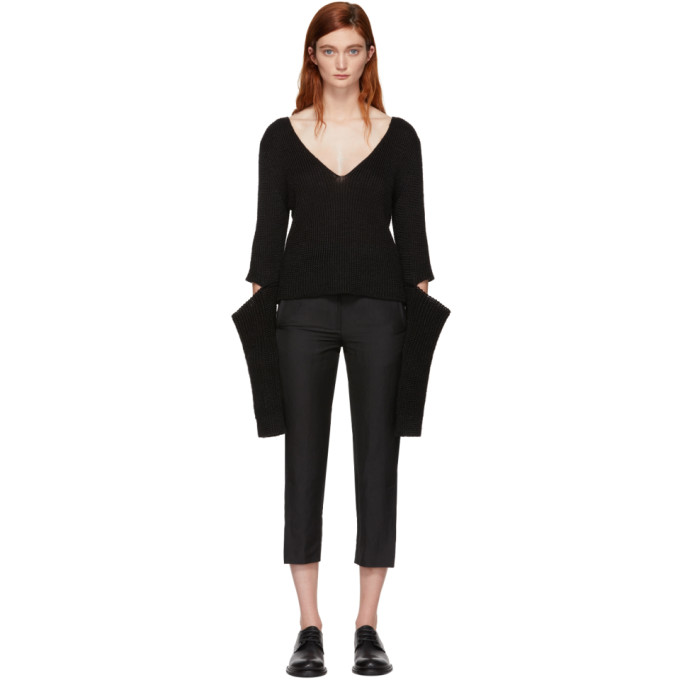 Image of Ann Demeulemeester Black Centaur Sweater