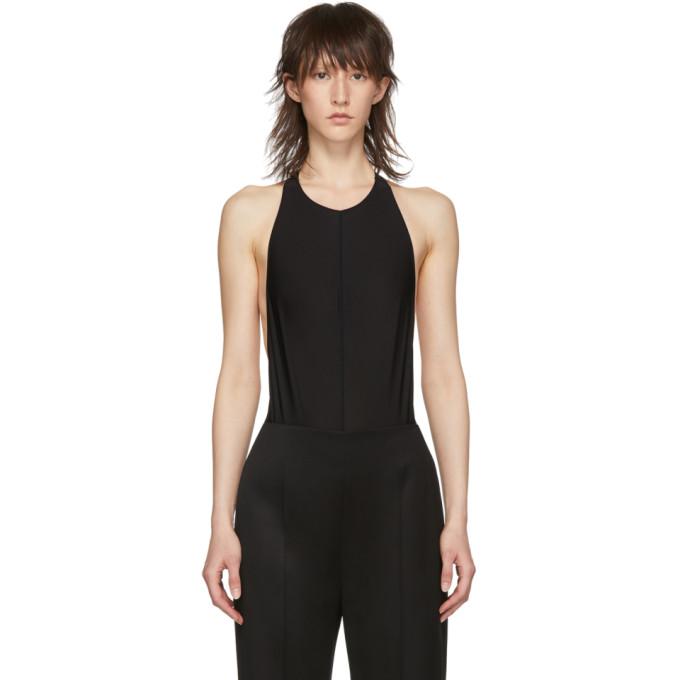 Ann Demeulemeester Body en jersey noir edition la fille dO