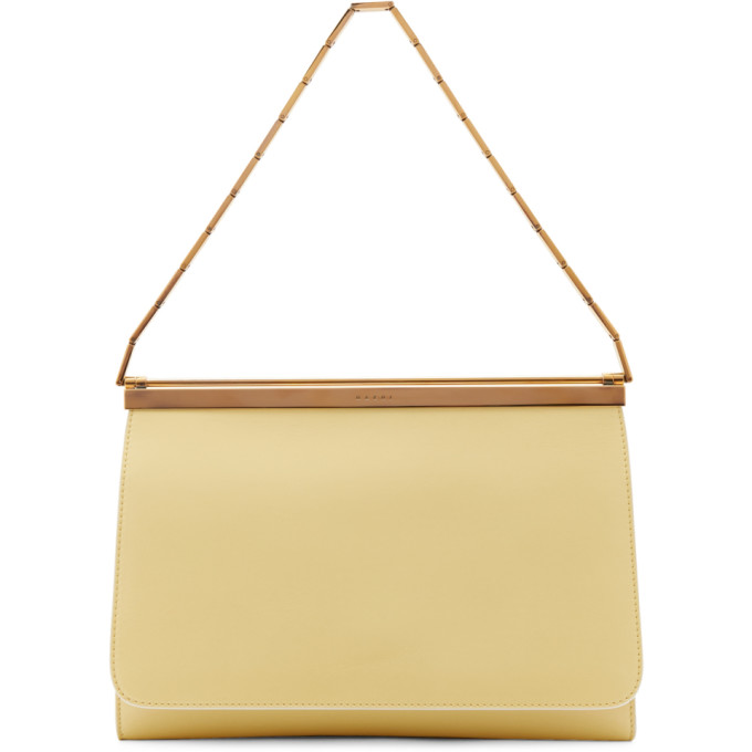 Marni Pink and Yellow Double Cache Bag