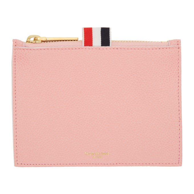 Thom Browne Pink Small Pouch