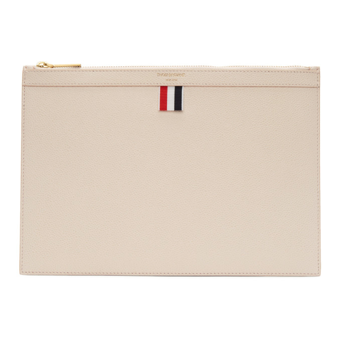 Thom Browne Pink Small Tablet Holder