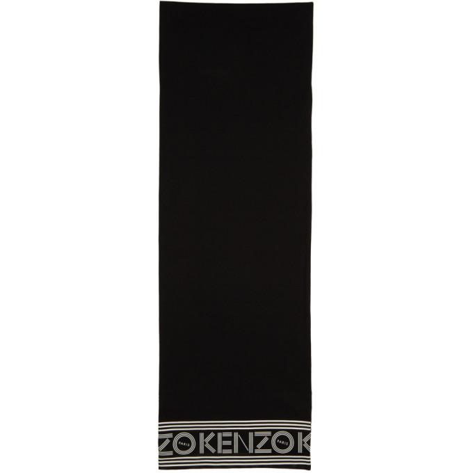 Kenzo Foulard a logo noir