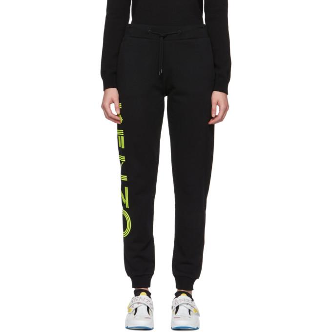 Kenzo Pantalon de survetement noir Sport Jogger
