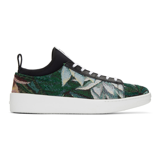 Kenzo Green Memento K-City Sneakers