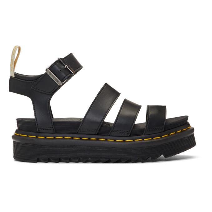 Dr. Martens Black Vegan Blaire Sandals