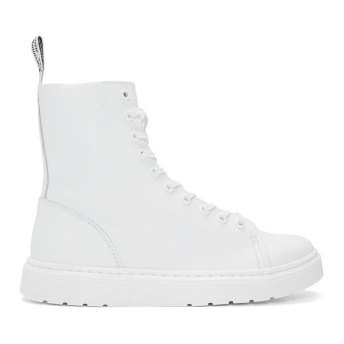 Dr. Martens White Zaniel Boots
